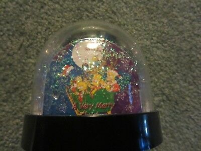 Simpsons 2 Sided Snowglobe  Uk