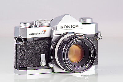 Preciosa Konica Autoreflex T + Hexanon 1.8 52  Excellent Cla Serviced Tested