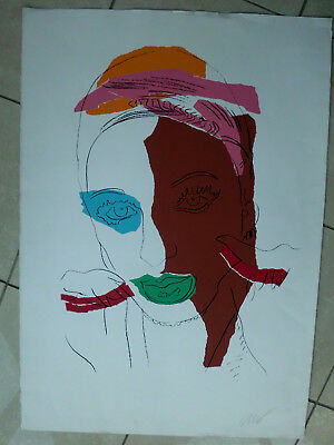 Andy Warhol,Ladies and Gentlemen, original handsigniert, num.: 20/150, 100x70 cm