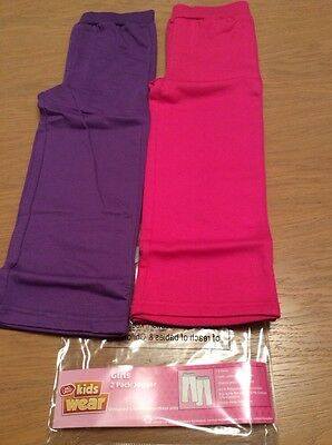 *BNIP* Girls 2 Pack Joggers By Chad Valley (18-24 Mths) *FREE UK P&P*
