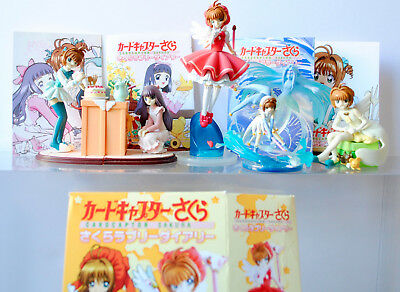 Card Captor Sakura Lovely Diary Trading Figure Gashapon Set of 5 F-Toys CLAMP