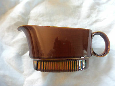 vintage rare Poole Pottery Chestnut tableware gravy boat brown shade replacement