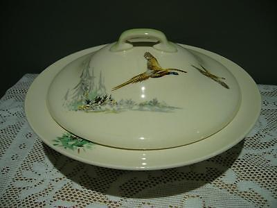 Royal Doulton England Vintage Lidded Vegetable Tureen - The Coppice - Vgc