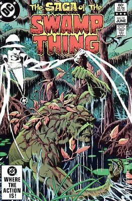 Swamp Thing (2nd Series) #14 1983 FN Stock Image