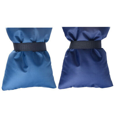 2pcs Outdoor Tap Jacket Out Garden Tap Cover for Garden Frost Cold Tap Blue