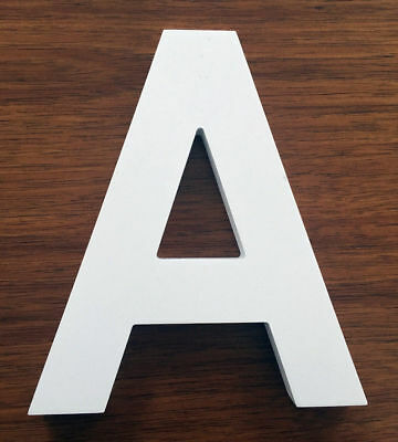 22cm Letters Alphabet Wooden Freestanding Personalised Word Wedding Party Decor