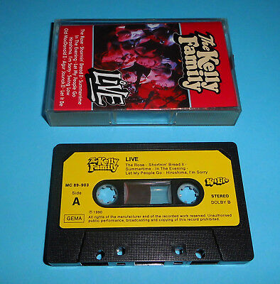 The Kelly Family - Live 1990 MC/Tape/Kassette aus Sammlung