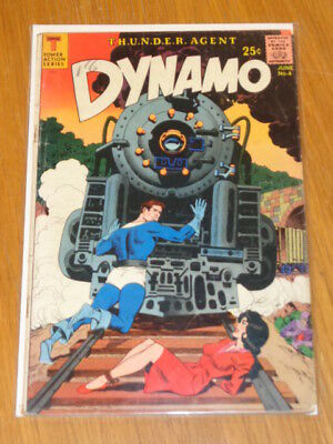 Dynamo #4 Vg (4.0) Tower Action Series Giant June 1967