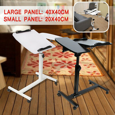 Adjustable Portable Laptop Table Stand Tray Computer Notebook Desk For Bed Sofa