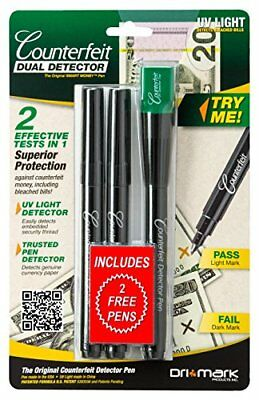 UV Light Pen Detects Security US Currency Paper Detect Money Card Cash Check NEW