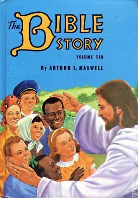 Bible Story HC (By Arthur S. Maxwell) #10-1ST 1957 VF