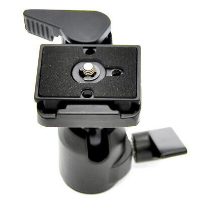360 Rotating Camera Tripod Monopod Ball Head Quick Release Plate for all camera