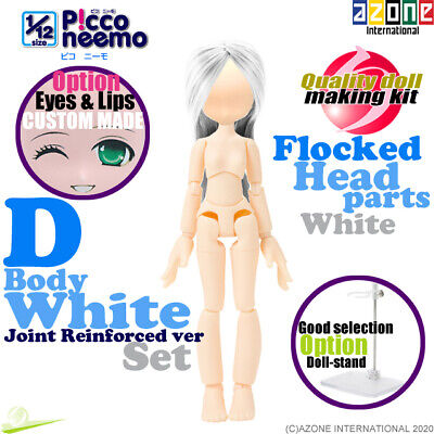 AZONE PCN015-WHT 1//12 Picco Neemo D Little sister Body White Joint Reinforced