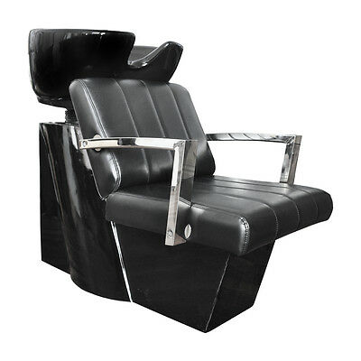 Hair Furniture Androgeo Stylish Backwash Unit with Deep Black Basin
