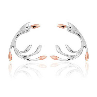 NEW Official Clogau Gold Silver & Rose Gold Tree of Life Eden Earrings £150 off!