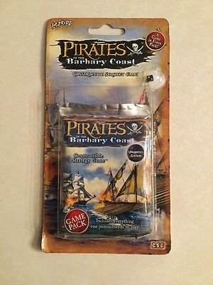 Wiz Kids Pirates of the Barbary Coast Sealed Booster Game Pack