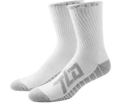 Troy Lee Designs Factory Crew Socks White