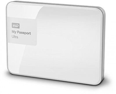 WD 1TB My Passport External Hard Drive Western USB 3.0 White  * LIMITED OFFER *