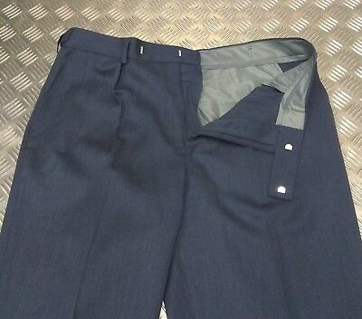 Genuine British RAF Mans No2 Dress Royal Air Force Trousers All Sizes - NEW