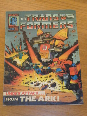 Transformers #110 25Th April 1987 British Weekly Marvel Uk Comic*