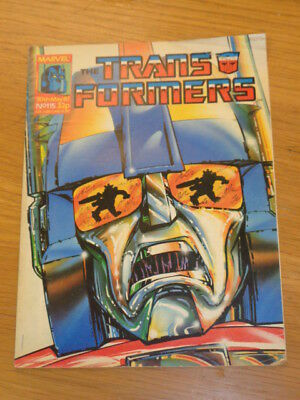 Transformers #115 30Th May 1987 British Weekly Marvel Uk Comic*