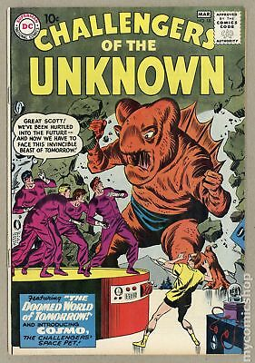 Challengers of the Unknown (DC 1st Series) #18 1961 VG 4.0