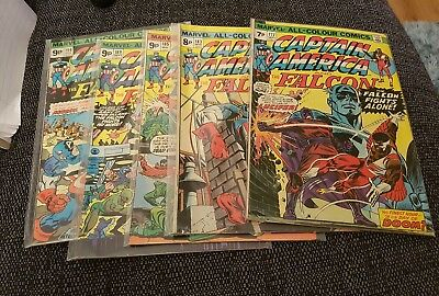 Captain America bronze age pack 5 issues bronge age classic readers