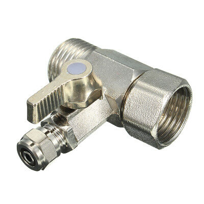 1/2Inch to 1/4Inch Ball Valve Faucet Tap Feed Reverse Osmosis RO Feed Water Adap
