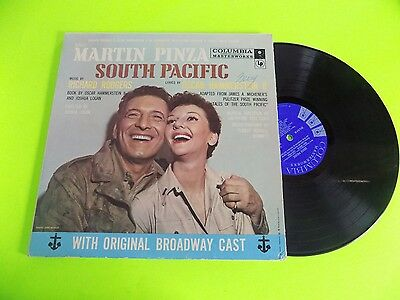 Vtg Record 1970s ?  LP Martin Pinza South Pacific Oscar Hammerstein