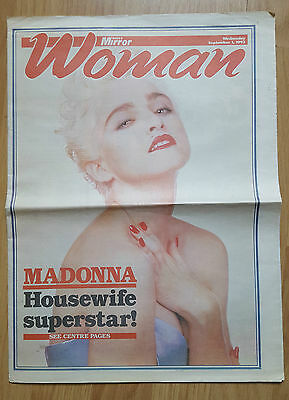 Daily Star Woman Uk Newspaper Supplement 1St September 1993 Madonna Cover