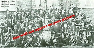 Uniforms. Queen's Lancashire Regt. 47th Foot. The Band in Dublin in 1878