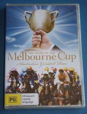 STORY OF THE MELBOURNE CUP Australia's Greatest Race DVD NEW SEALED Region 4