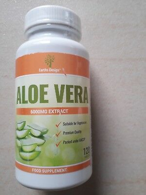 Aloe Vera - Comprimés d'Aloe 6000mg - Complément à Dosage Maximum
