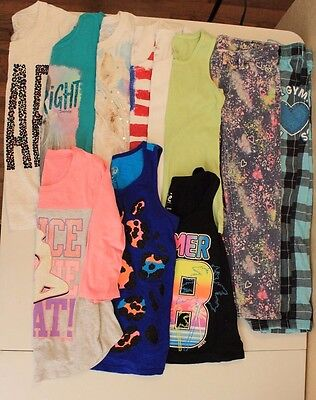 Justice Girls Lot of 11 pcs Sizes 6-8