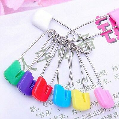 6PCS Large Nappy Pins Terry Nappies Safety Pin Baby Diaper Change Fasteners