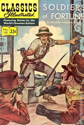 Classics Illustrated 119 Soldiers of Fortune #3 1970 VG 4.0 Stock Image