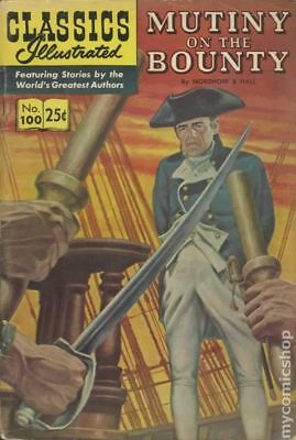 Classics Illustrated 100 Mutiny on the Bounty #9 1970 GD/VG 3.0 Stock Image