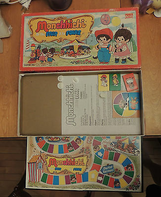Vintage Monchhichi at the Fair 1974 Sekiguchi Parker Board Game HTF Complete