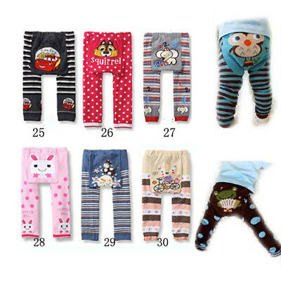 0-36M Unisex Baby Infant Cotton Toddler Warm Animal Cartoon Leggings PP Pants