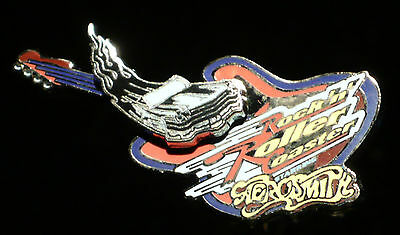 Rock and Roller Coaster Starring Aerosmith Pin