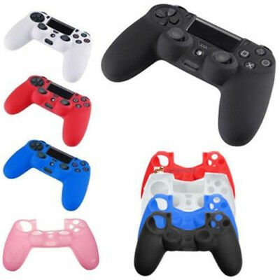Silicone Rubber Soft Case Skin Grip Cover For Sony Playstation 4 PS4 Controller