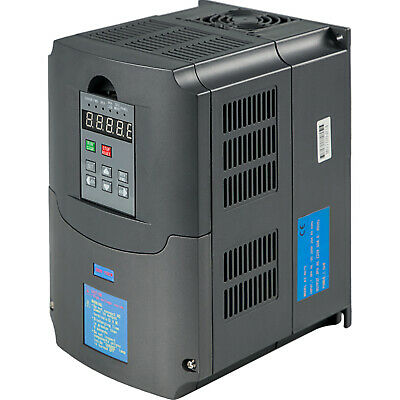 10HP 7.5KW Variable Frequency Drive VFD Single Speed Close-Loop Inverter VSD 34A