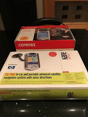 Compaq, iPAQ Pocket Pc, boxed- includes Car satellite navigation navman Pilot