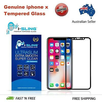 iPhone XS Max XR X 8 7 Plus - 2X ISLING Tempered Glass Screen Protector Apple