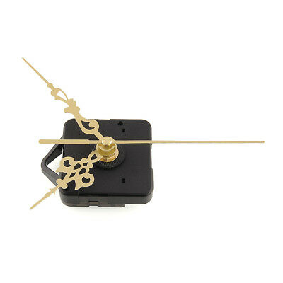 Quality Clock Movement Mechanism Parts Tool Set with Gold Hands Quiet #2
