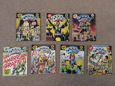 The Best Of 2000ad Monthly 7 Issues Job Lot Bundle Free Postage