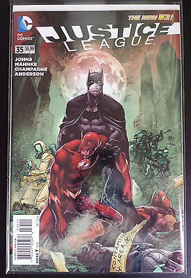 Justice League  #35 New 52 Dc Comics. Bagged/boarded