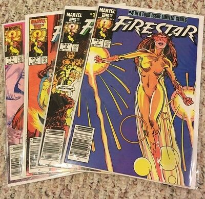 Firestar Limited Series #1, 2, 3, 4 - 95¢ Cover Price Variant Canadian Newsstand