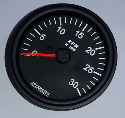 Tachometer 0 3000 rpm works on magnetic pickup sensor driven chrome tachometer 0 3000 rpm works on magnetic pickup sensor driven black bezel 12v publicscrutiny Image collections