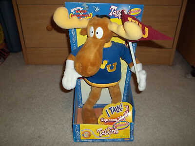 New Boxed The Adventures of Rocky And Bullwinkle Talking Bullwinkle Wossamotta U
